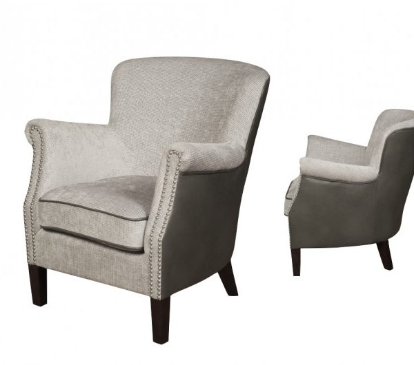 4054 thickbox default Harlow Chair GreyLatte Armchair