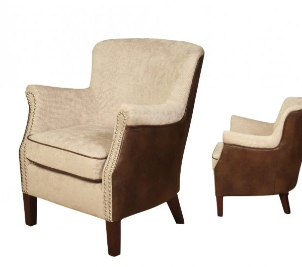 4055 thickbox default Harlow MinkTan Armchair