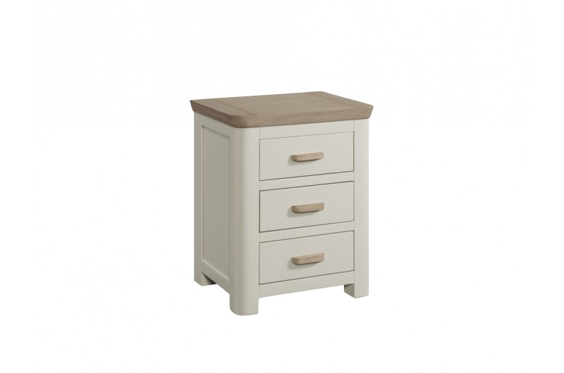4075 thickbox default Treviso Painted 3 Drawer Nightstand With Wooden Handles