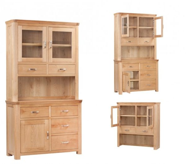 4112 thickbox default Treviso Oak Small Buffet Hutch