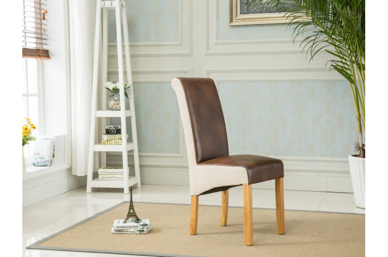 4170 thickbox default Charlene Dining Chairs TanBeige