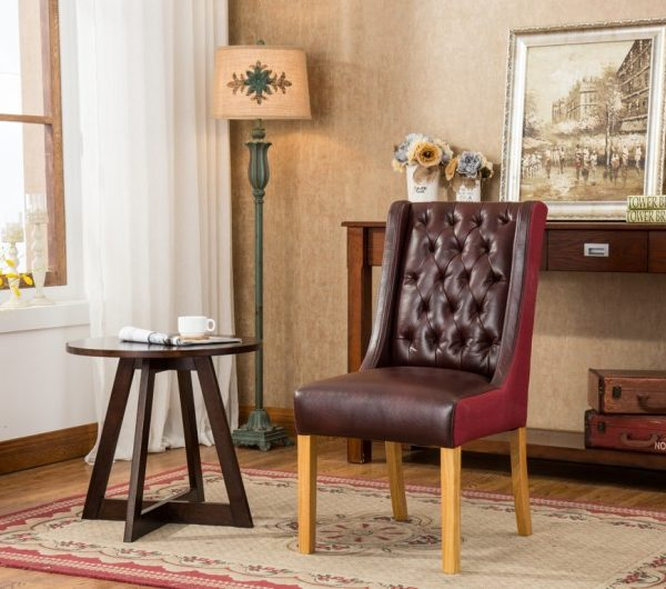 Olivia Dining Chairs Burgundy/Plum