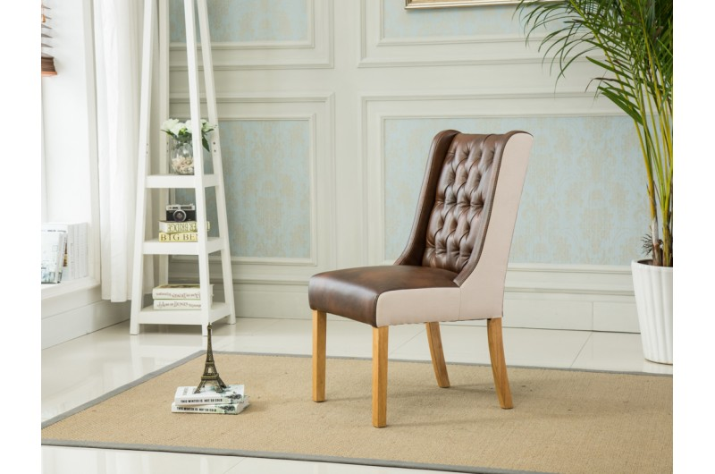 4173 thickbox default Olivia Dining Chairs TanBeige