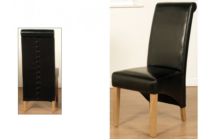 5145 thickbox default Rocco Dining Chairs Black