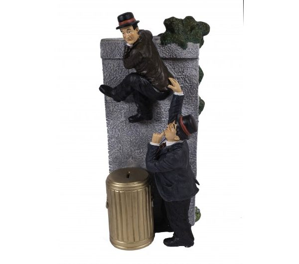 Laurel & Hardy Climbing Wall
