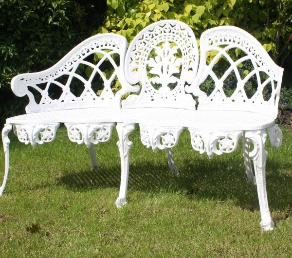Coalbrook Bench White