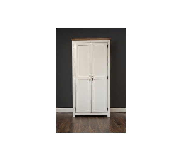 Manhattan Cream & Oak Wardrobe