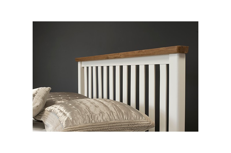 5095 thickbox default Manhattan Cream Oak Bed Frame