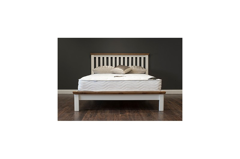 5096 thickbox default Manhattan Cream Oak Bed Frame