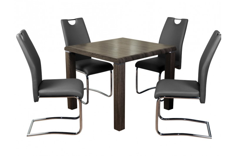 5817 thickbox default Encore Charcoal Dining Set Grey