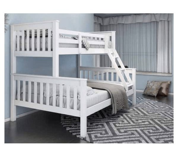 5424 thickbox default Athens Triple Bunk Bed White