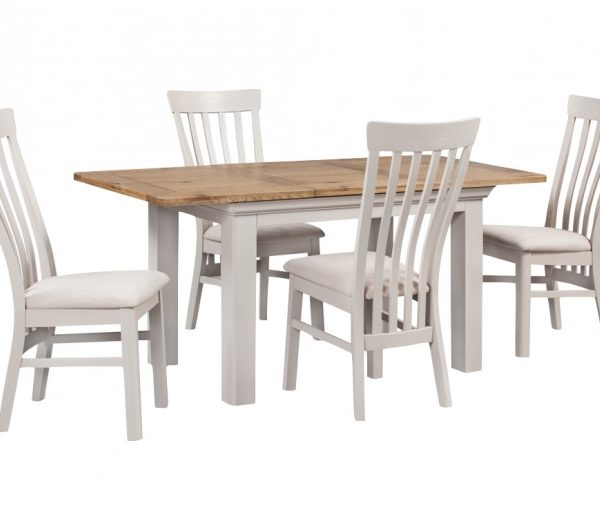 Lyon Painted 1200MM Extension Dining Set