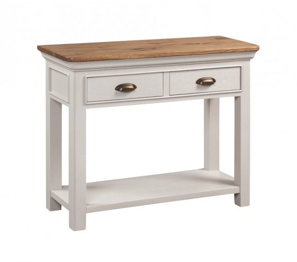5477 thickbox default Lyon Painted 2 Drawer Console