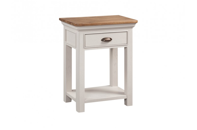 5478 thickbox default Lyon Painted 1 Drawer Console