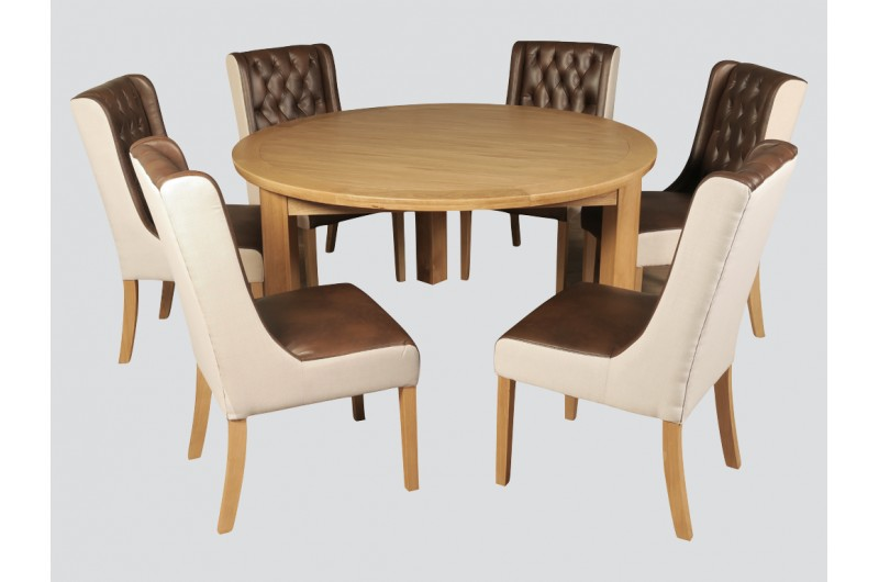 5482 thickbox default Treviso Oak 1500mm Round Dining Set With Olivia Chairs