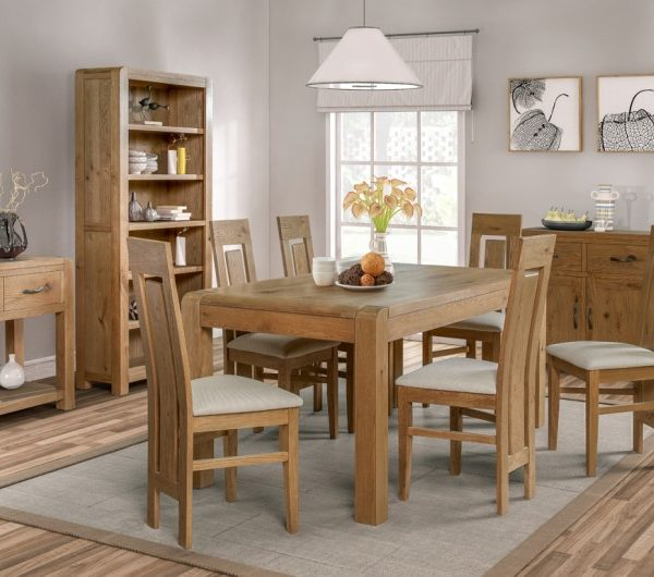 Capri 1400MM Fixed Dining Set