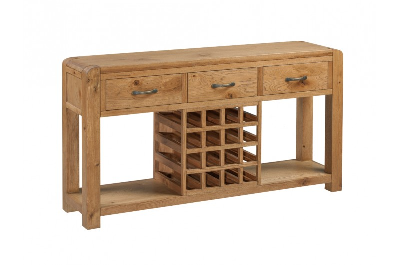 Capri Sideboard With Wine Rack
