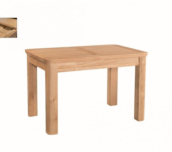 5522 thickbox default Treviso Oak 4FT Extension Dining Table