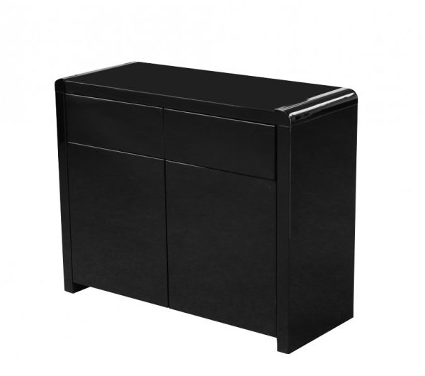 5544 thickbox default Clarus Black 2 Door Sideboard