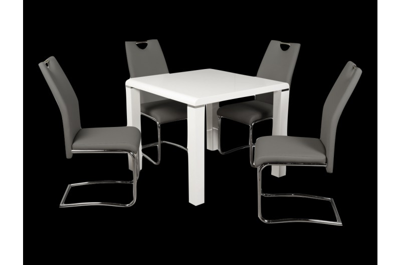5549 thickbox default Clarus WhiteGrey Dining Set