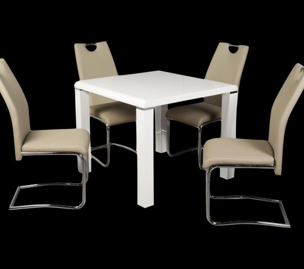 5550 thickbox default Clarus WhiteKhaki Dining Set