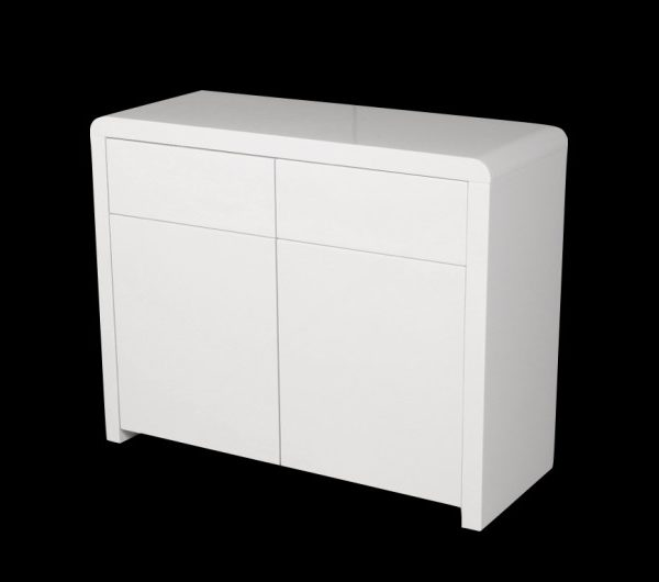 5551 thickbox default Atlantis Clarus 2 Door Sideboard White