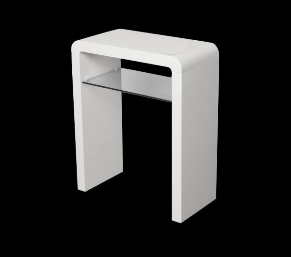5555 thickbox default Atlantis Clarus Small Console Table White