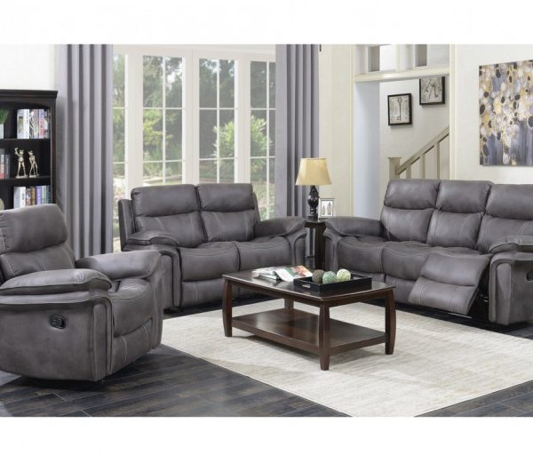 Richmond Reclining Suite (Graphite Grey)