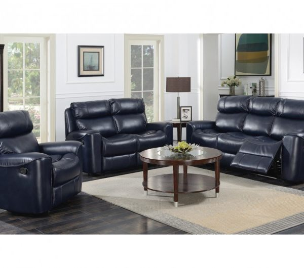 Brookland Reclining Suite (Navy)