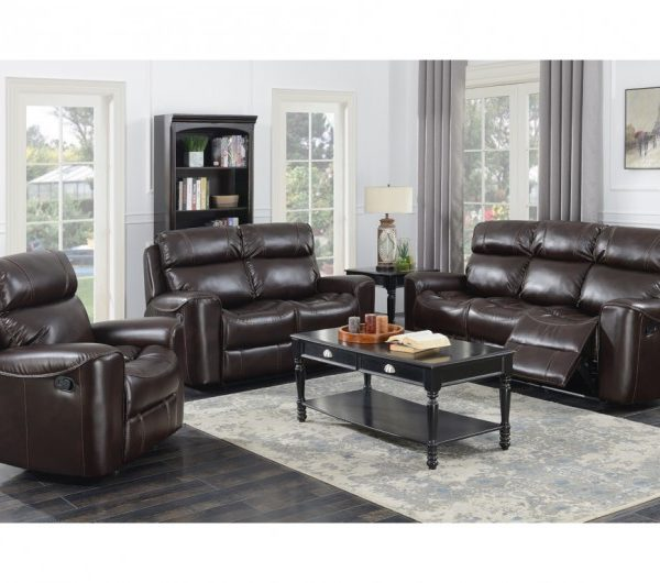 Brookland Reclining Suite (Chestnut)