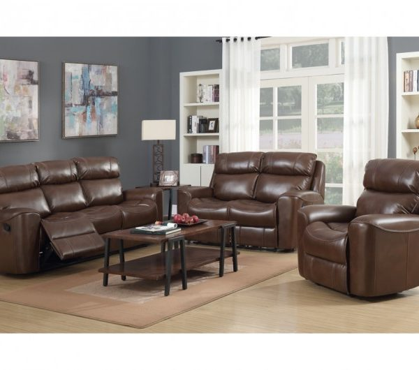 Brookland Reclining Suite (Tan)