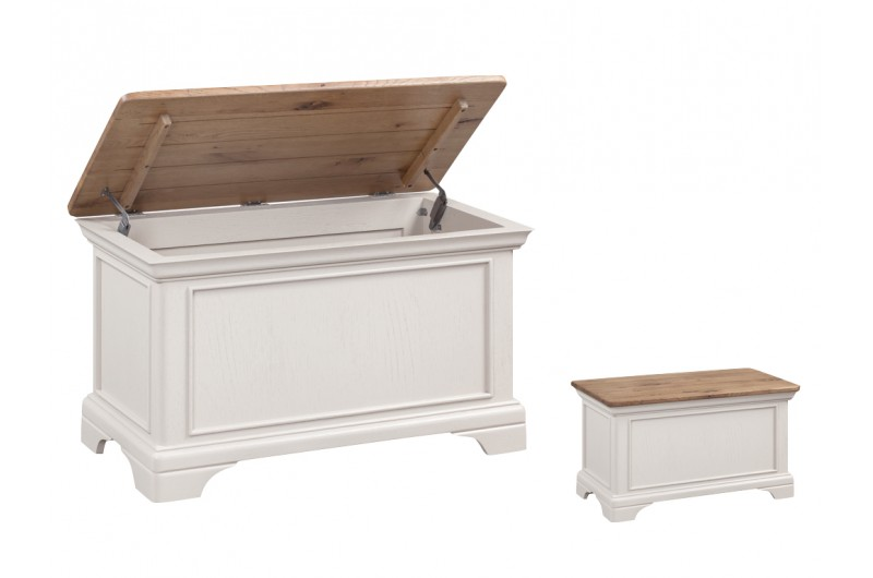 Lyon Painted Blanket Box