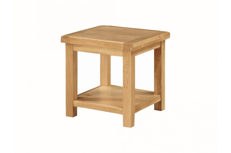 Newbridge End Table With Shelf