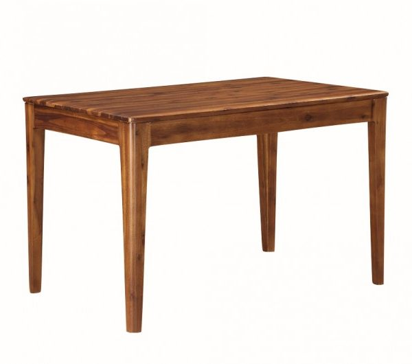 Dunmore Acacia 4' Fixed Dining Table