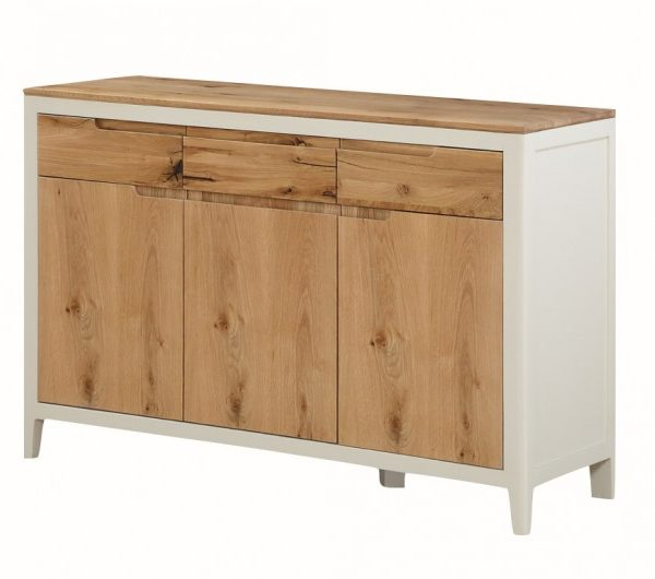 Dunmore Painted 3 Door Sideboard