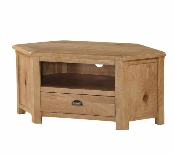 Kilmore Oak Corner TV Unit