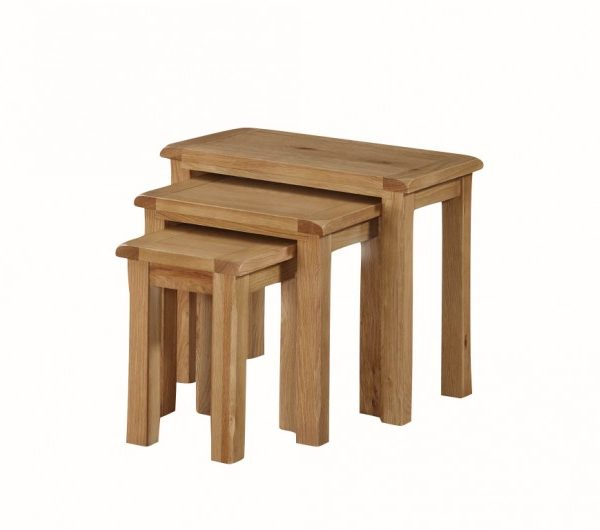 Kilmore Oak Nest Of Tables