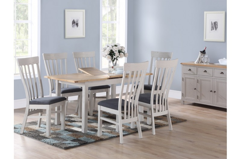 5951 thickbox default Kilmore Painted 4 Extension Dining Set