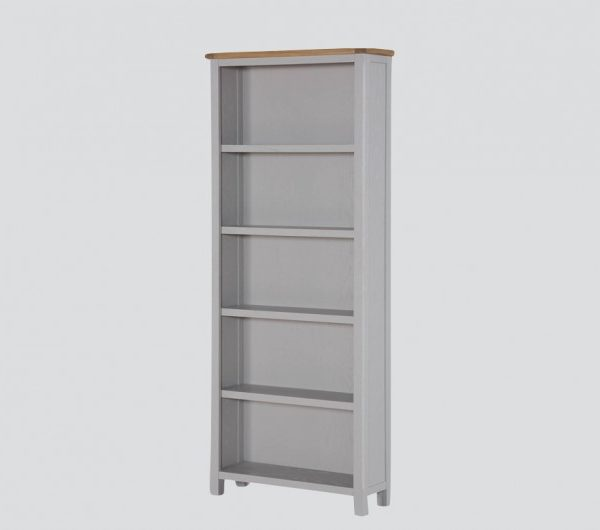 Kilmore Painted Tall Wide Bookcase