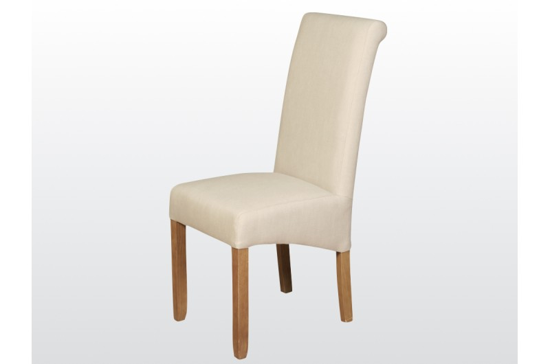 6019 thickbox default Sophie Beige Fabric Dining Chair