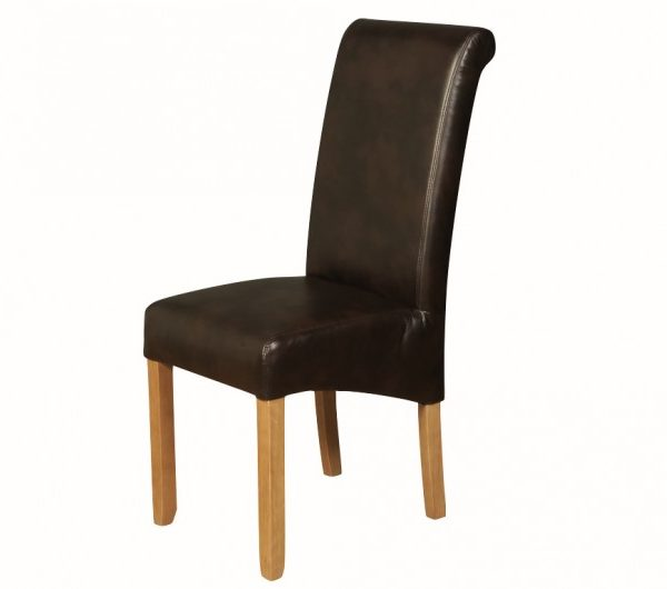 Sophie LA Two-Tone Brown Dining Chair