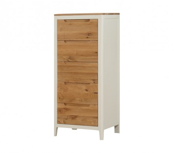 Dunmore Painted 5 Drawer Chest