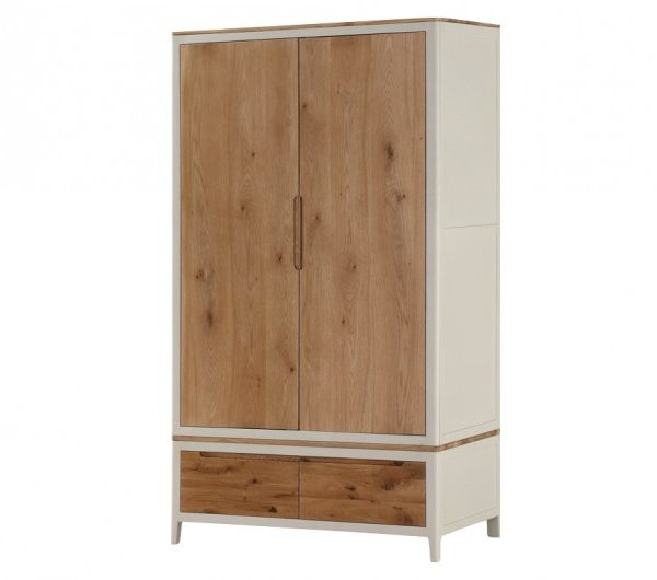 Dunmore Painted 2 Door Wardrobe