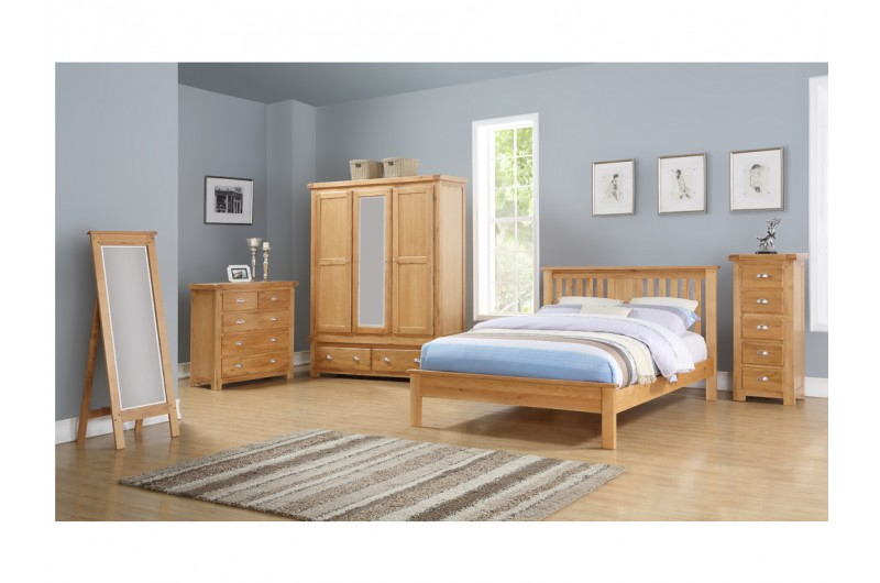 6108 thickbox default Newbridge Bedroom Range With Cheval Mirror 2 Over 3 Chest