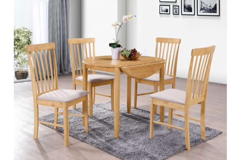 6170 thickbox default Cologne Round Drop Leaf Dining Set