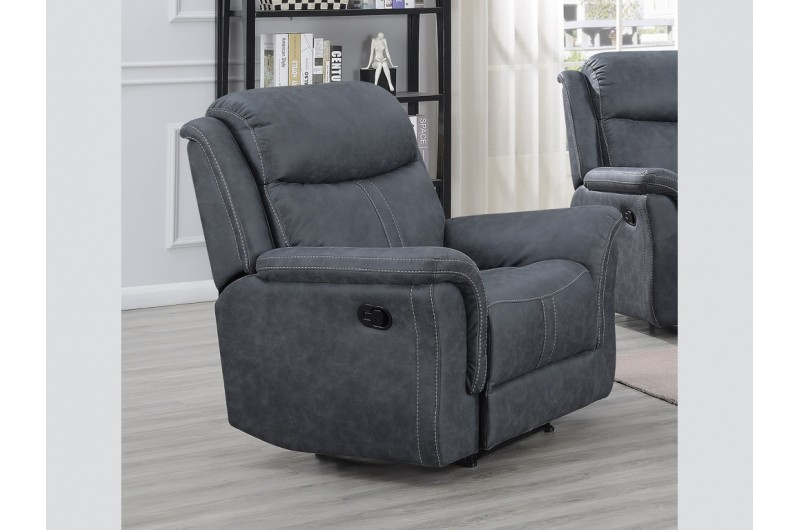 6198 thickbox default Portland Slate Grey Reclining Suite Armchair