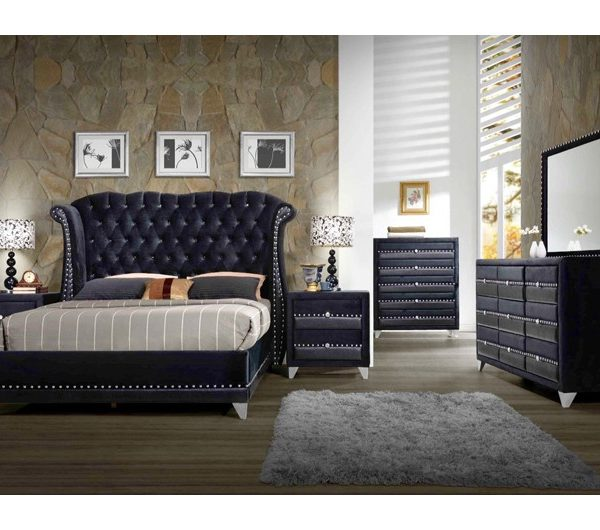 Jasmine Bedroom Range (Black)
