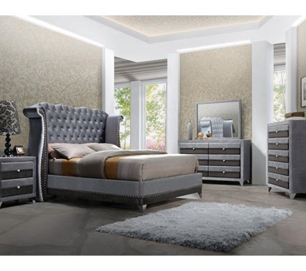 Jasmine Bedroom Range (Grey)
