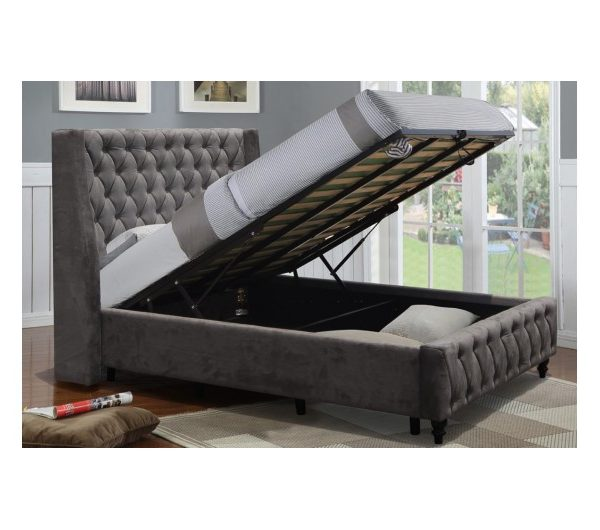 6260 thickbox default Jersery Gas Lift Fabric Bed
