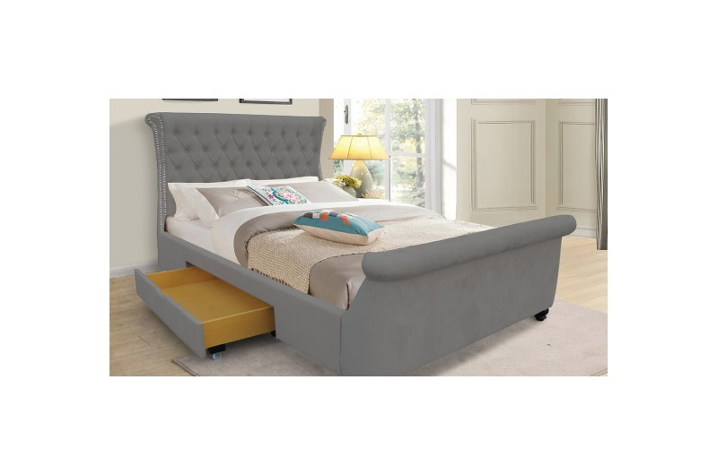 6262 thickbox default Dakota Fabric Bed Grey
